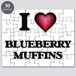 I love Blueberry Muffins Puzzle