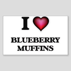 I love Blueberry Muffins Sticker