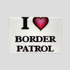 I love Border Patrol Magnets