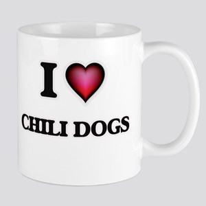I love Chili Dogs Mugs