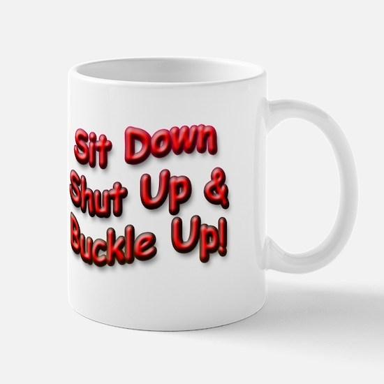 Buckle Up - Mugs