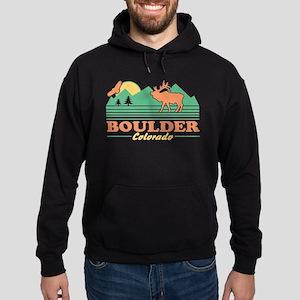 Boulder Colorado Hoodie (dark)