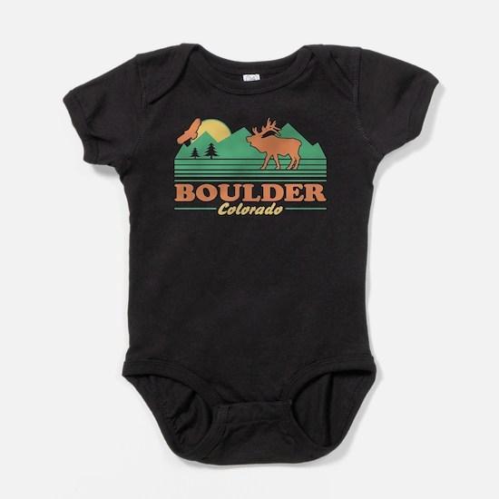 Boulder Colorado Baby Bodysuit