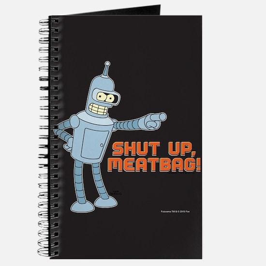 Bender Shut Up Meatbag Full Bleed Journal