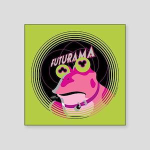 """Futurama Hypnotoad Square Sticker 3"""" x 3"""""""