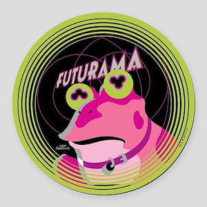 Futurama Hypnotoad Round Car Magnet