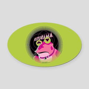 Futurama Hypnotoad Oval Car Magnet