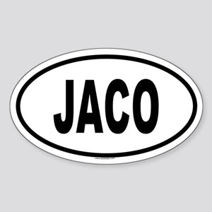 JACO Oval Sticker