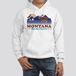 Montana Big Sky Country Hooded Sweatshirt