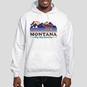 Montana Big Sky Country Hooded Sweatshirt