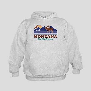Montana Big Sky Country Kids Hoodie