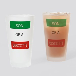 Son of a Biscotti Drinking Glass