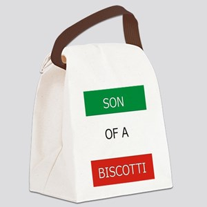 Son of a Biscotti Canvas Lunch Bag