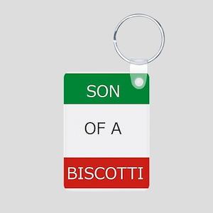 Son of a Biscotti Keychains