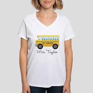 Personalized 1st Grade Teacher T-Shirt