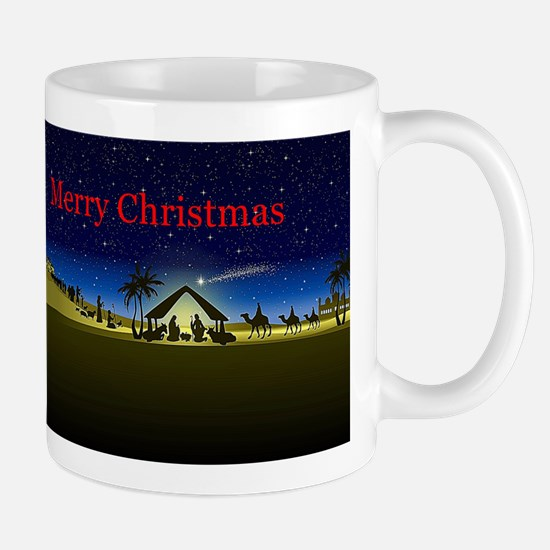 Nativity Merry Christmas Mugs