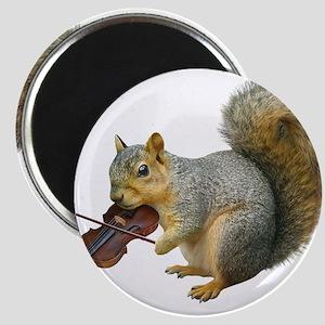 Squirrel Violin Magnets