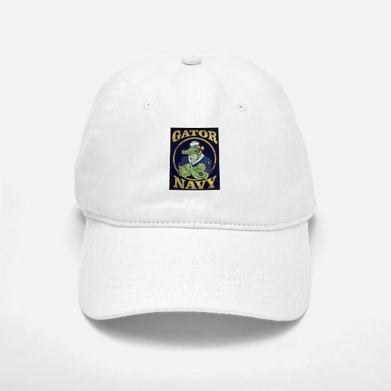The Gator Navy Baseball Baseball Baseball Cap