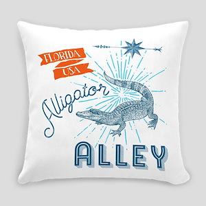 Alligator Alley Florida Everglades Everyday Pillow