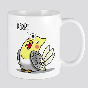 Derp bird Mugs