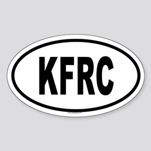 KFRC Oval Sticker