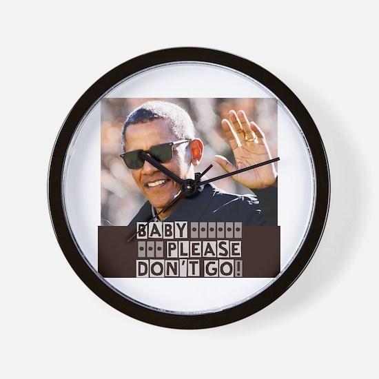 Unique Black president Wall Clock