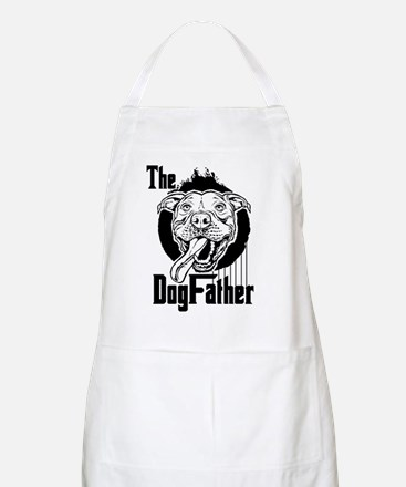The Pit Bull Dogfather Apron