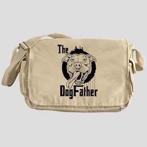 The Pit Bull Dogfather Messenger Bag