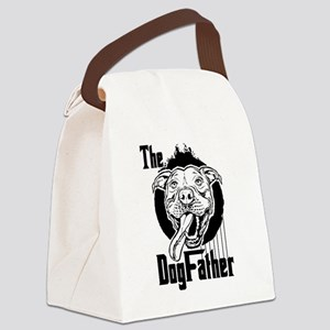 The Pit Bull Dogfather Canvas Lunch Bag