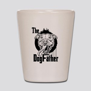 The Pit Bull Dogfather Shot Glass