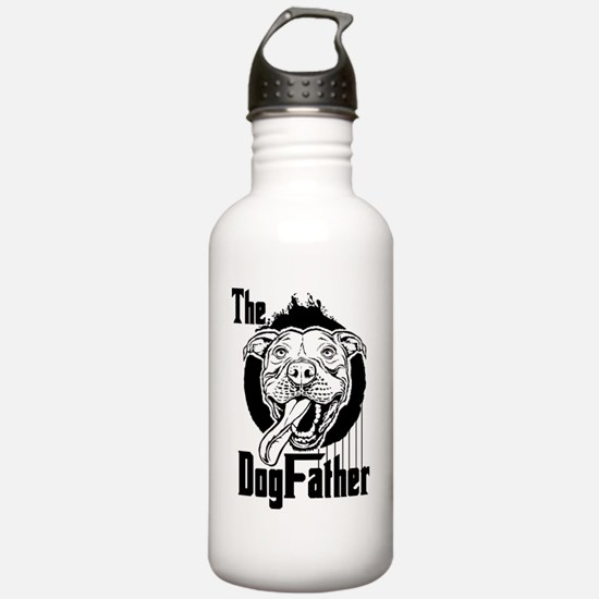 The Pit Bull Dogfather Water Bottle