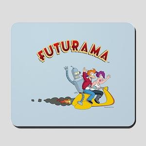 Futurama Hover Scooter Mousepad
