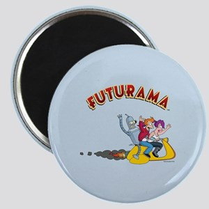 Futurama Hover Scooter Magnet