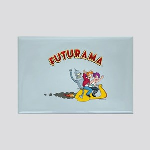 Futurama Hover Scooter Rectangle Magnet