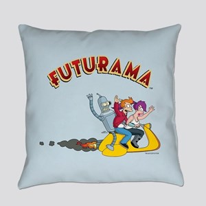 Futurama Hover Scooter Everyday Pillow