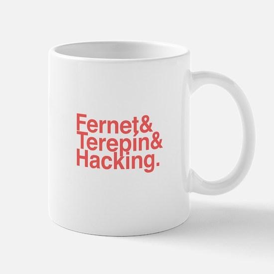 Fernet & terepin & hacking Mugs