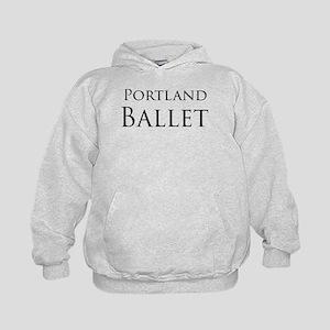 Portland Ballet Black Logo Sweatshirt