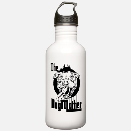 The Pit Bull Dogmother Water Bottle