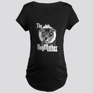 The Pit Bull Dogmother Maternity T-Shirt