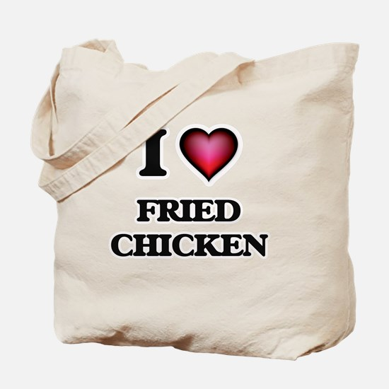 I love Fried Chicken Tote Bag