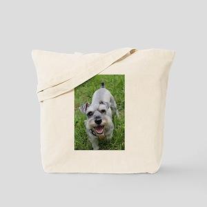 Happy Schnauzer Tote Bag