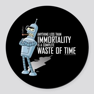 Bender Immortality Round Car Magnet