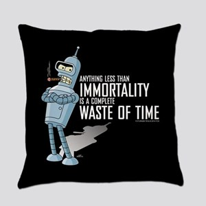 Bender Immortality Everyday Pillow