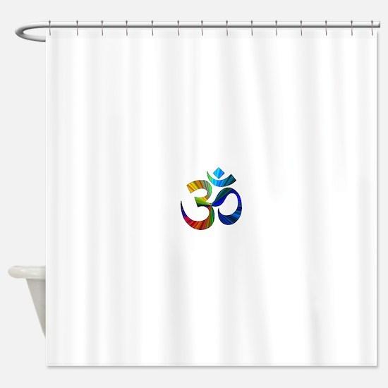Cute Om Shower Curtain