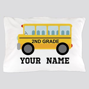 Personalized 2nd Grade Pillow Case