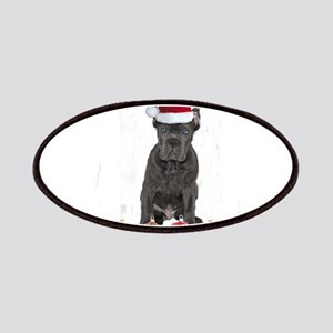 Christmas Cane Corso Puppy Patch