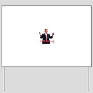 Donald Trump Winning Yard Sign