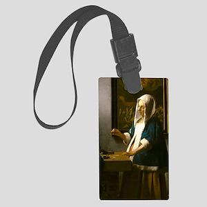 Woman Holding a Balance by Johannes Vermeer Luggag