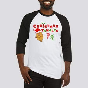 Christmas Tamales Baseball Jersey