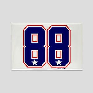 US(USA) United States Hockey 88 Rectangle Magnet